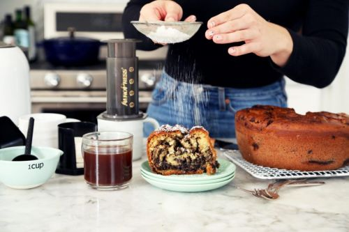 Chocolate Babka Coffee Cake