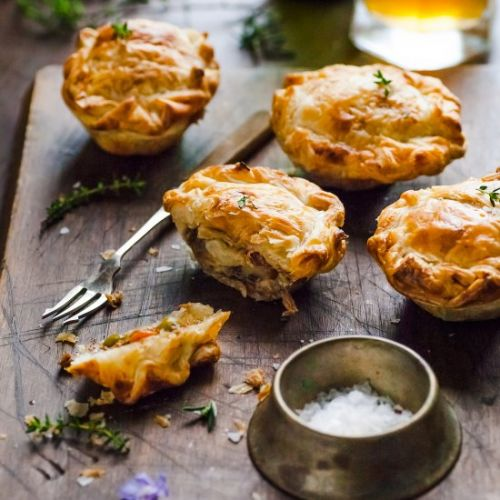 Mini Beef Meat Pie