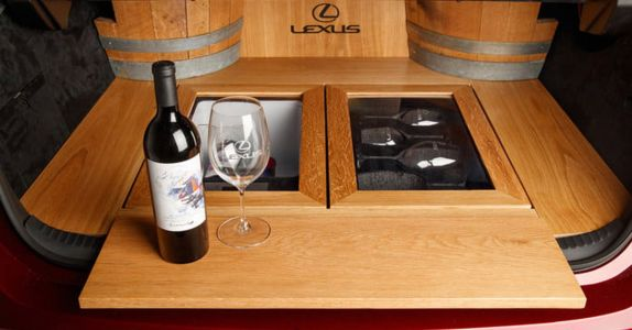 This Lexus Concept Car is a Wine Tasting Room on Wheels
