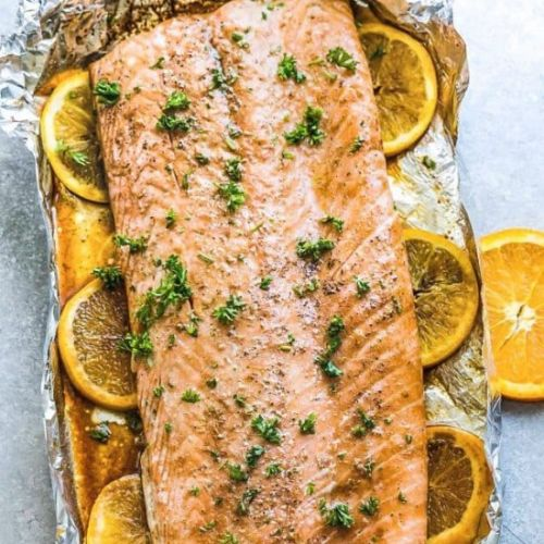 Orange Sesame Salmon