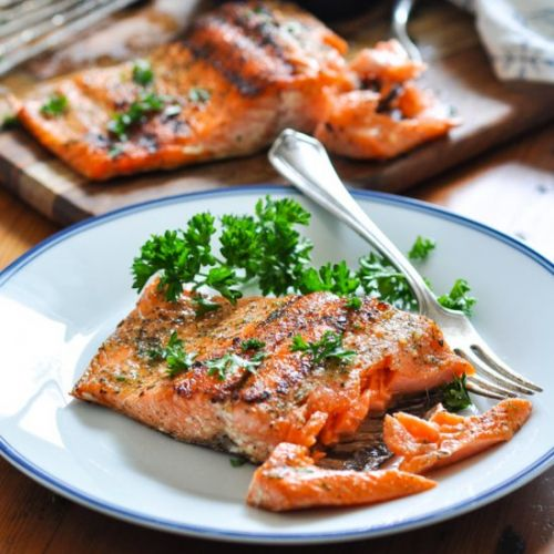 Perfect 15-Minute Grilled Salmon