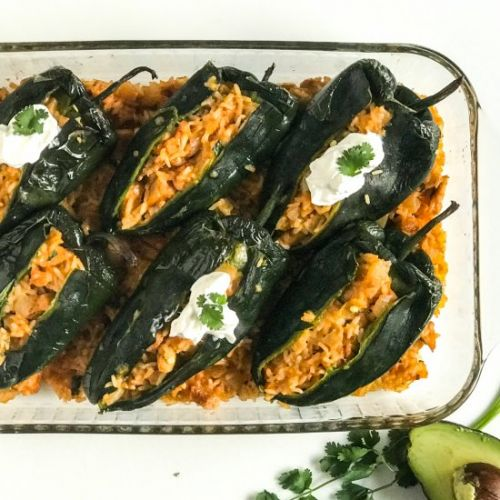 Brad's Spicy Stuffed Peppers