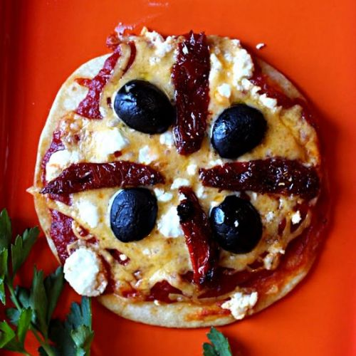 Tortilla Pizza Appetizer