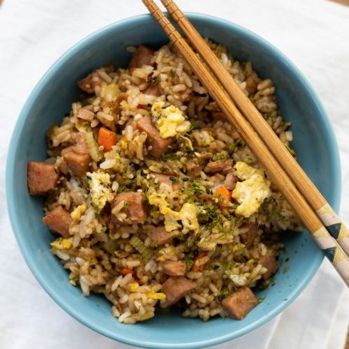 Spam and Egg Fried Rice