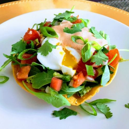 Tostada Brunch Bowl