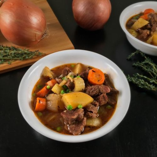 Instant Pot Beef Stew with Cider
