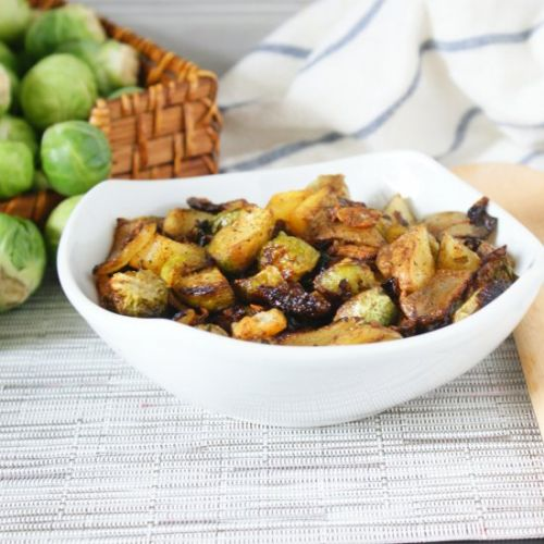 Roasted Brussel Sprouts Curry