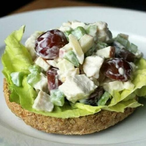 Deliciously Light Chicken Salad