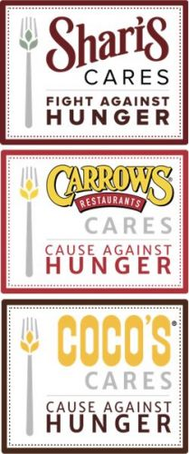 Shari's, Coco's and Carrows Crosses the Line to End Hunger