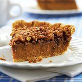 Bake Up a 2-in-1 Pumpkin-Praline Pie