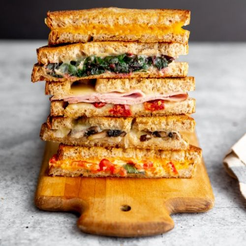 DIY Oven grilled cheese