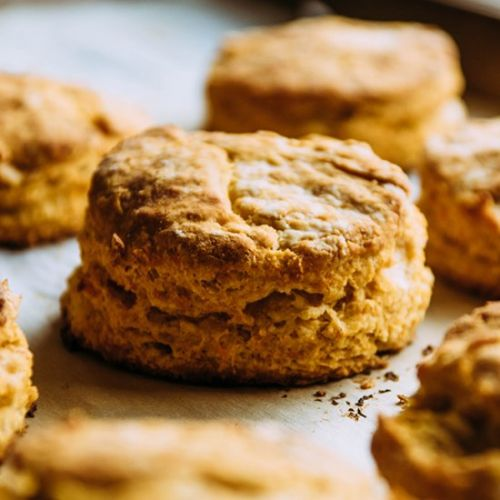 Easy Sweet Potato Biscuits