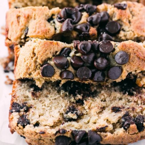 Peanut Butter Chocolate Chip Bread