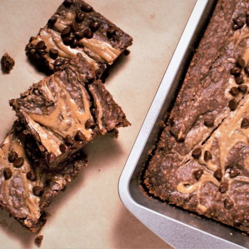 Peanut Butter Black Bean Brownies