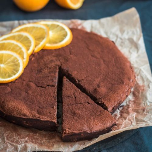 CHOCOLATE ORANGE RICOTTA CAKE