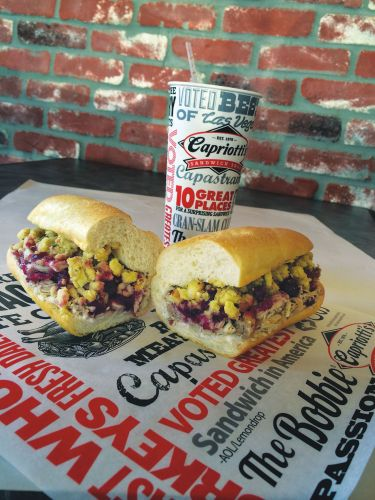 Local Favorite Capriotti's Wins 'Best Sandwich in Vegas' Award