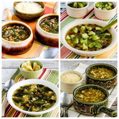 Low-Carb and Keto Turkey Soup Recipes