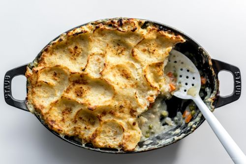 Potato Topped Turkey Pot Pie Recipe