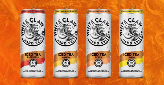 White Claw Hard Seltzer Iced Tea Is Now Available In 4 Flavors