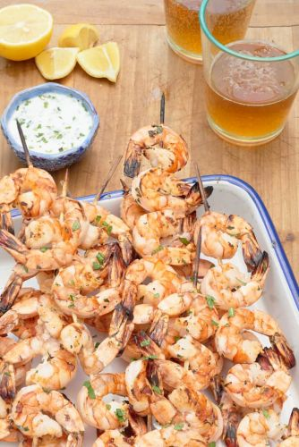 How To Grill Juicy, Flavorful Shrimp