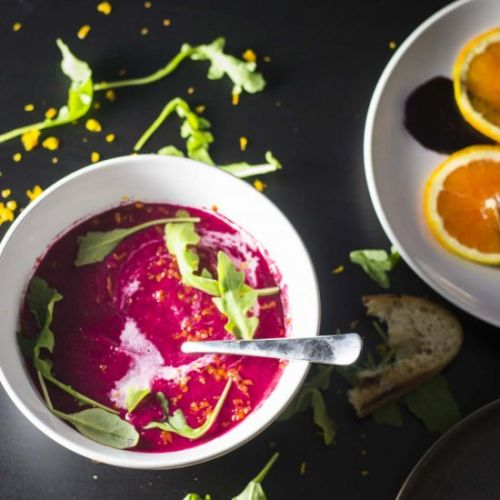 Beetroot and Orange Summer Soup