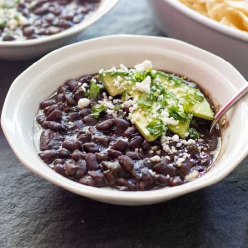 Instant Pot Black Bean Soup