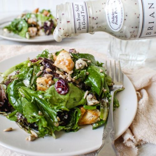 Chicken And Goat Cheese Salad