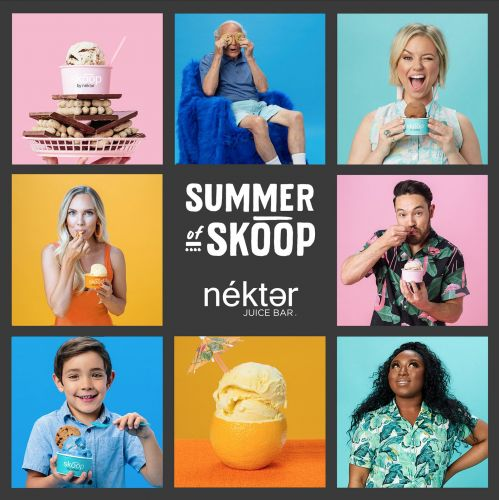 Nékter Juice Bar Sweetens National Ice Cream Day with Buy One, Get One Special on Skoop Vegan and Dairy-Free Ice Cream All Day Long