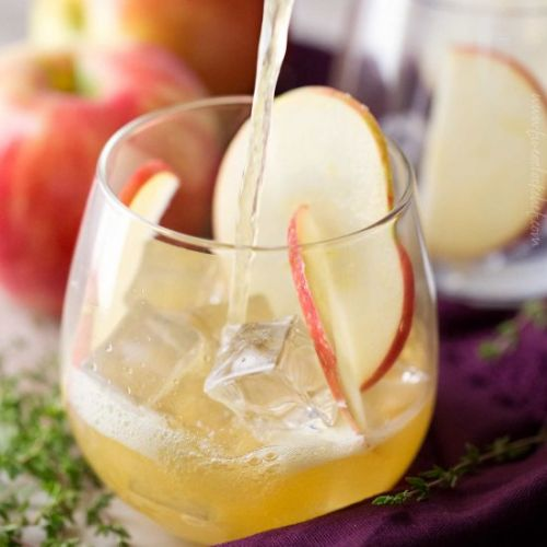 Maple Apple Bourbon Cocktail