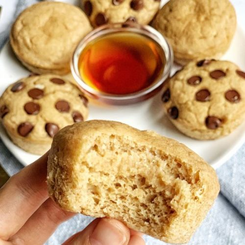 Syrup Infused Pancake Poppers