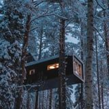 This Magical Hotel in Sweden Lets You Sleep Among the Trees, and the Views Are Unreal