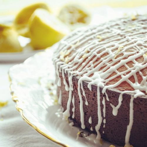 Beautiful Lemon Cake