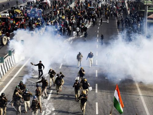 India's Farmers Are Still Protesting - and Things Are Turning Violent