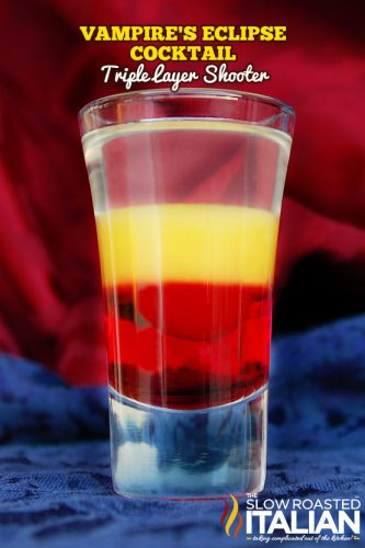 The Best Halloween Cocktail Recipe: The Vampire's Eclipse