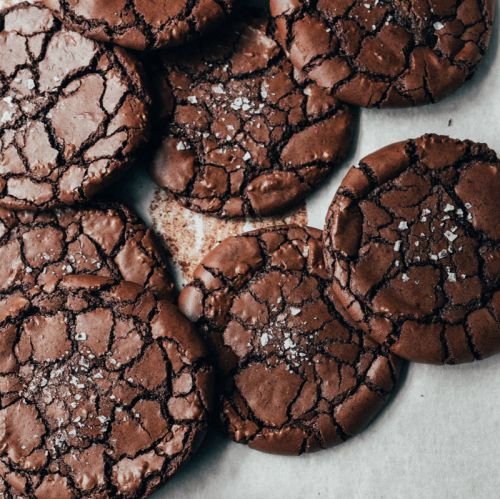 12 Days of Cookies: A Boy Who Bakes' Brownie Crinkle Cookies