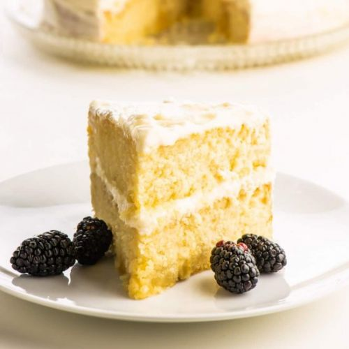 Best Vegan Vanilla Cake Recipe
