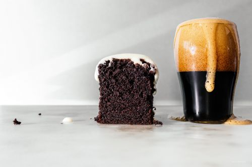 Small Batch Chocolate Guinness Cake Loaf