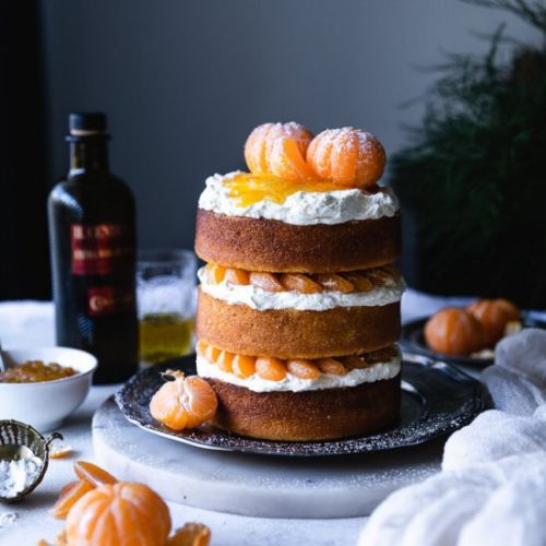 Clementine & Olive Oil Cake