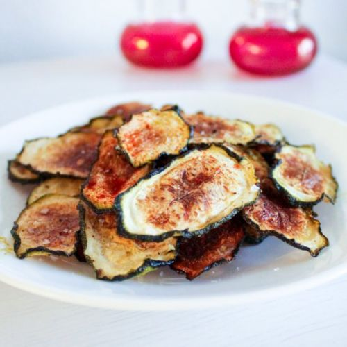 Zucchini Chips Baked in the Oven