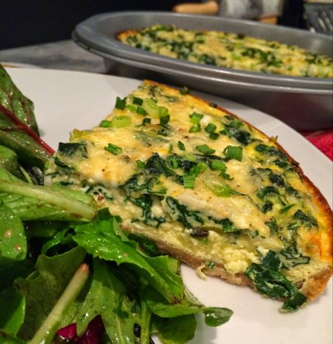 Warm Winter Quiche