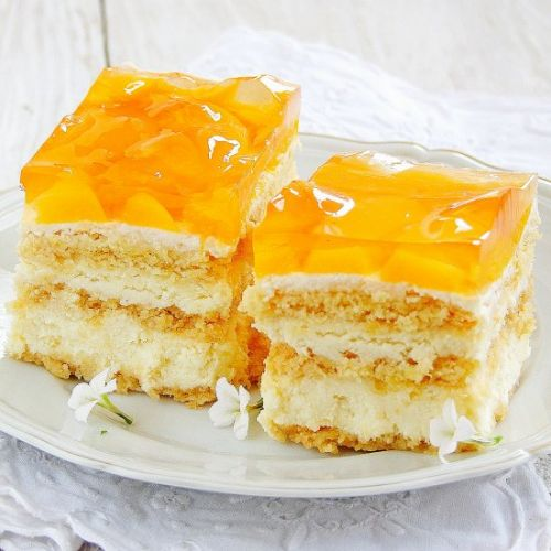 Cheesecake with jelly