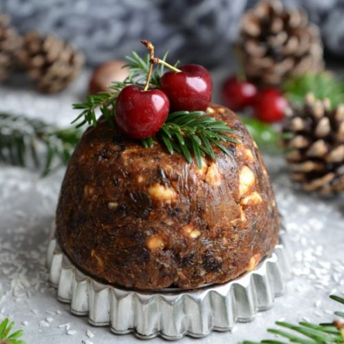 Raw Christmas Pudding
