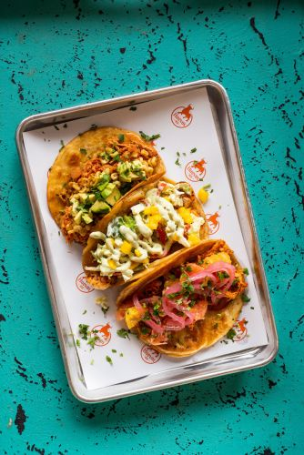 Fast-Casual Huevos Tacos Brings Playful Tacos to Denver's South Broadway