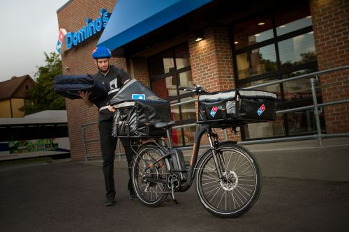 Domino's Launches National E-Bike Program for Pedal-Powered Delivery
