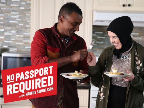 Watch: On the First Episode of 'No Passport Required,' Marcus Samuelsson Explores Middle Eastern Food Traditions
