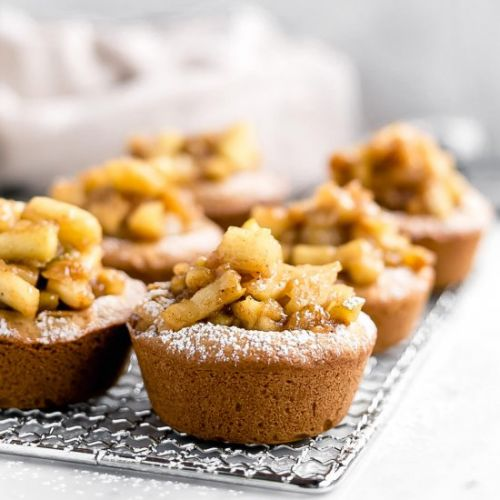 Brown Butter Apple Pie Cookie Cups