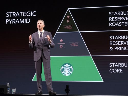 Starbucks Investors Don't Want Howard Schultz to Run for President