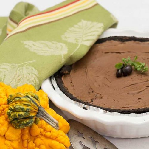 Easy Chocolate Mascarpone Pie