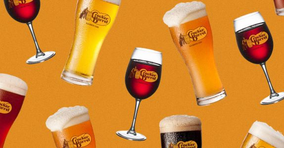 Cracker Barrel Reopens with Wine and Beer Program