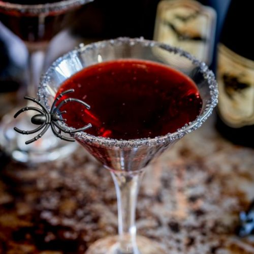 Witches Blood - Halloween Cocktail